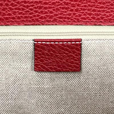 mamont chain bag red